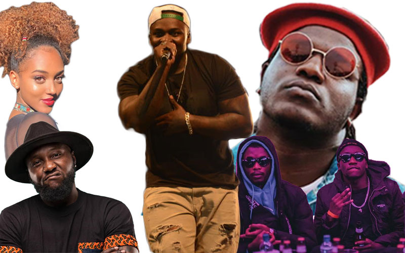 Khali Cartel: Top Kenyan rappers who've been supported by Khaligraph Jones