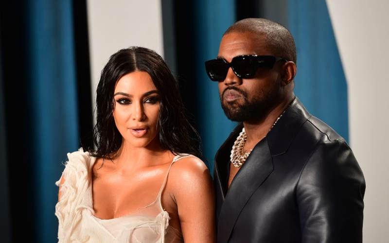 Kim Kardashian and Kanye West kiss in new video weeks after 'divorce lawyer meeting'