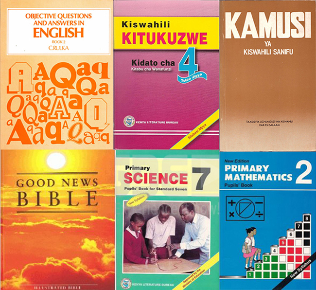 #TBT Primary School Textbooks (Old Edition)