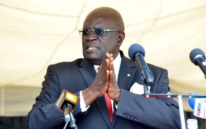Magoha asks principals not to send learners home over fees