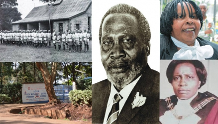 Where Jomo Kenyatta and his daughter learnt how to read