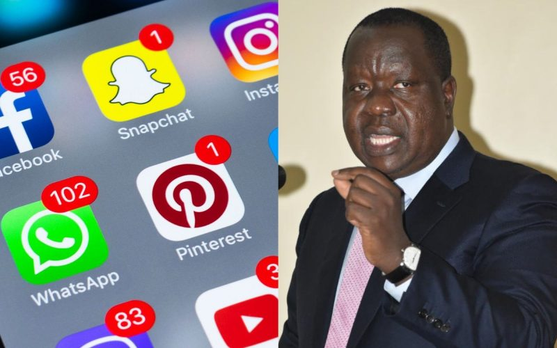 Matiang'i opines on shutting down internet during 2022 elections