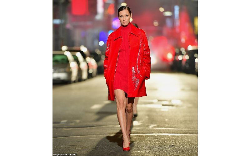 Michael Kors turns Manhattan's Broadway to a runway
