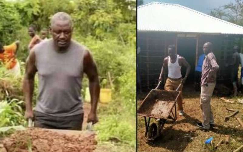 Murkomen takes a dig at Otiende Amollo for pushing a wheelbarrow