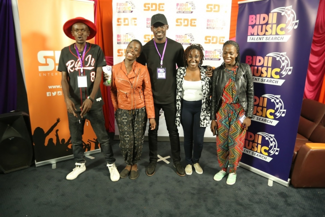 The Finalists of the Bidii Music Talent Search