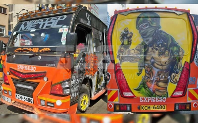 Nairobi's hottest matatu: Kasarani's Twisted Metal ensures passengers enjoy fresh air