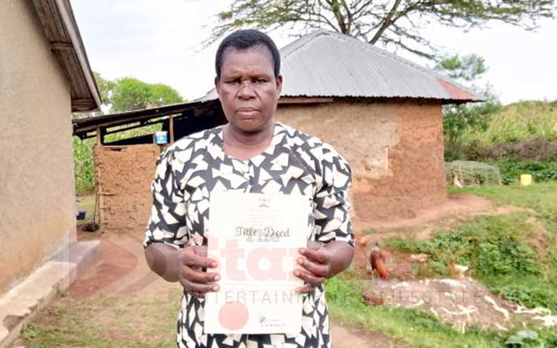 No right to land? Siaya men's death loss to wife, gain to relatives