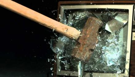Not today! Naivasha teenager smashes TV after losing bet