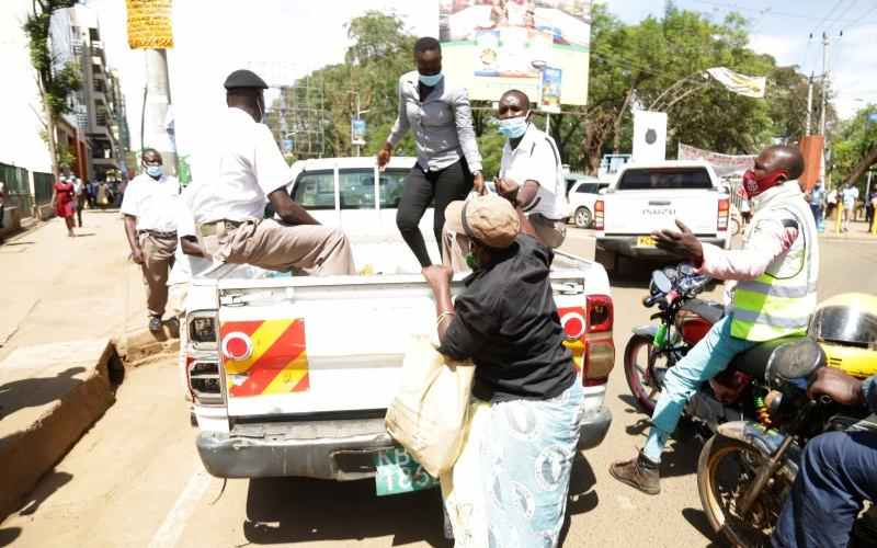 Nyong'o takes action on county officers who dragged woman on tarmac