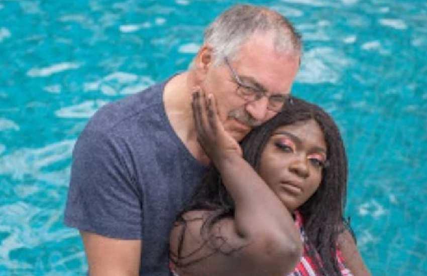 Nyota Ndogo claps back at troll, defends Dutch husband