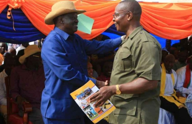 Out of here: Paul Otuoma jumps ship, ditches Raila for Uhuru