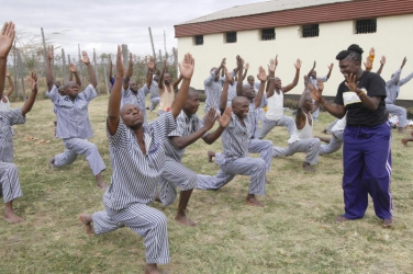 Peace behind bars: Inmates finding freedom in practicing Yoga
