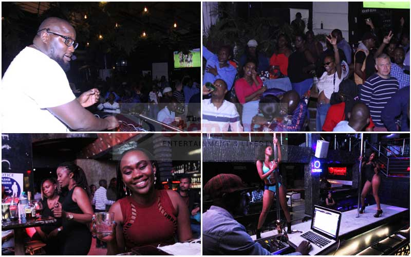 PHOTOS: Night out in Nairobi as Kenyans hit bars and nightclubs