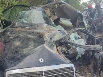 They need you: KTN's Dennis Onsarigo pleads with Kenyans to support family involved in horrific car accident