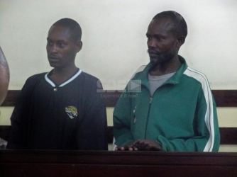Two men in court for breaking into Mathari toilet