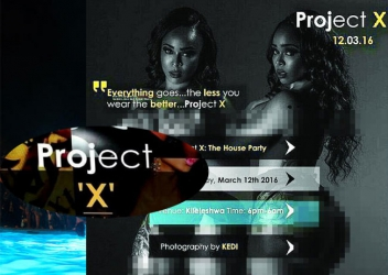Project X: No one goes back home a virgin