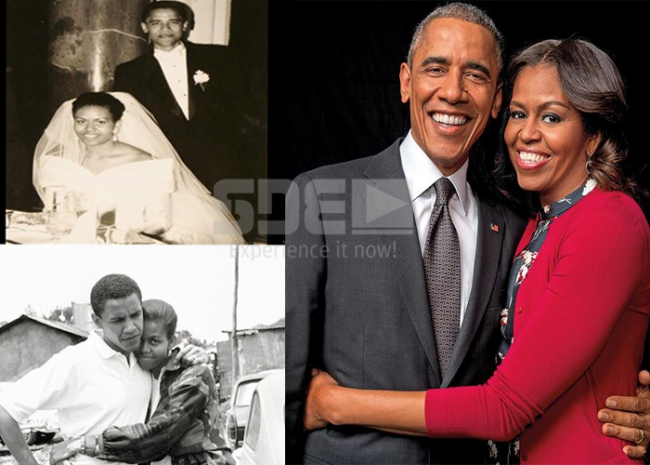 #TBT US President Barack Obama and wife Michelle
