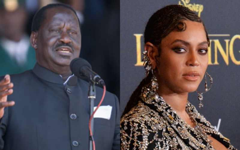Raila, Beyonce strongly condemn police brutality in Nigeria