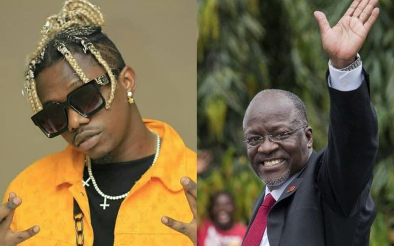 Rayvanny pays tribute to President Magufuli in emotional song