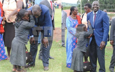 Remember me? Deputy President William Ruto meets his old friend