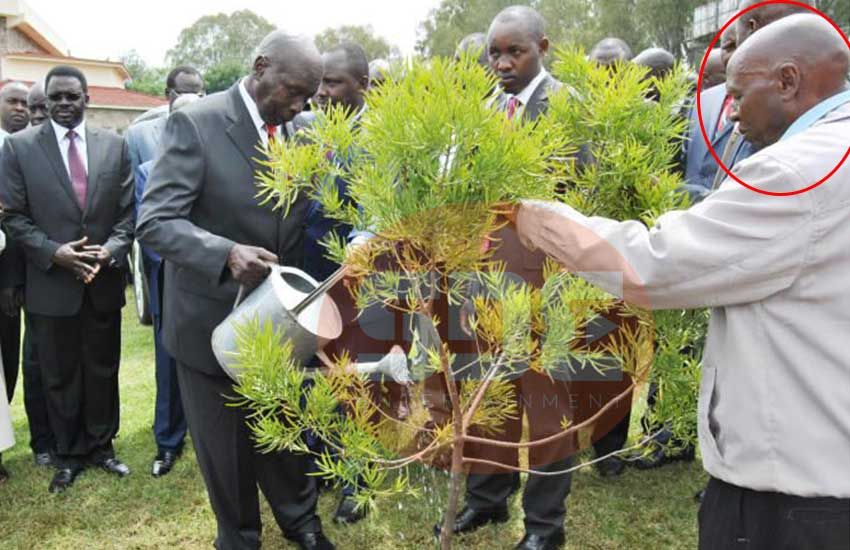 Rewarded generously: The untold story of Moi's gardener