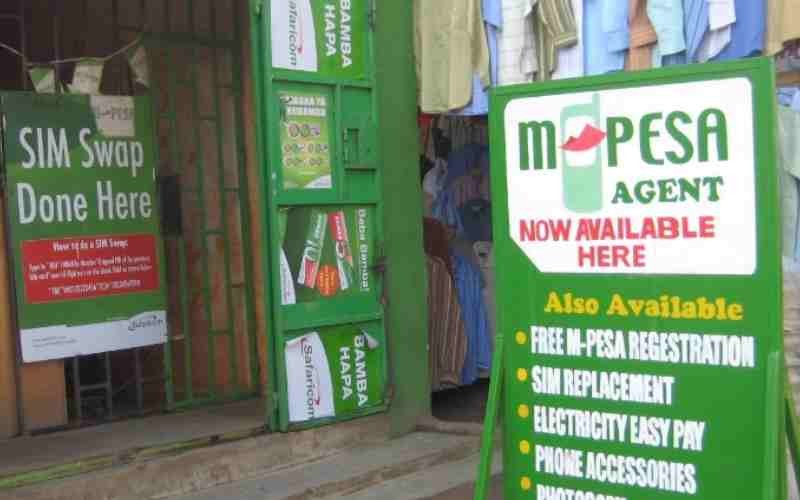 Robbers use string to strangle M-Pesa operator