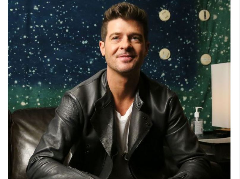 Robin Thicke says fame led him to painkiller and alcohol abuse and 'a bad place'