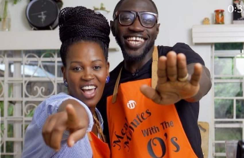 Sauti Sol's Polycarp Otieno, wife Lady Mandy set to launch cooking show