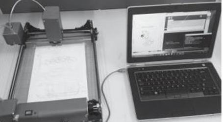 Second year student develops 3D printer