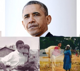 Sip of Chang'aa exploded in my chest in Kogelo — President Barack Obama