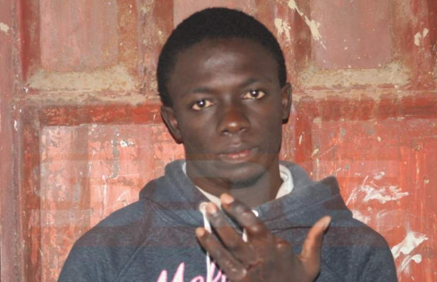 Student hit with Sh900,000 bill, seeking compensation after losing finger