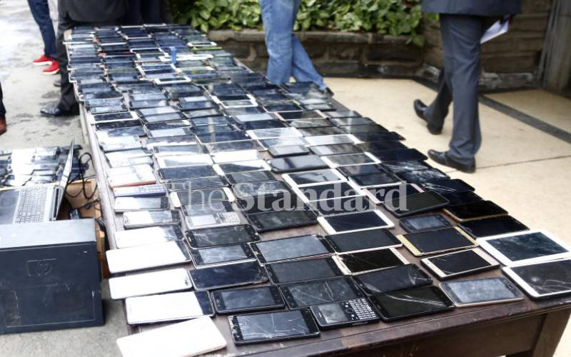 Tactics used by Nairobi thieves to steal phones