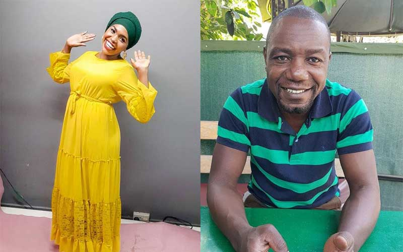 Teacher Wanjiku's husband dismisses claims he's behind comedians' woes