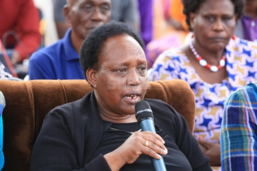 The late Joseph Nkaissery's wife breaks silence, reveals last moments with her husband