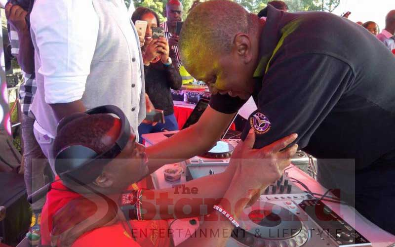 The story of Euphorique, wheelchair-bound DJ who keeps Uhuru on his feet