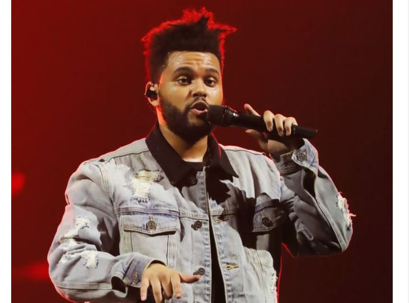 The Weeknd shows off bloated 'plastic surgery' face in freaky music video