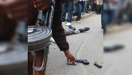 Thugs did not dare to kill police officers