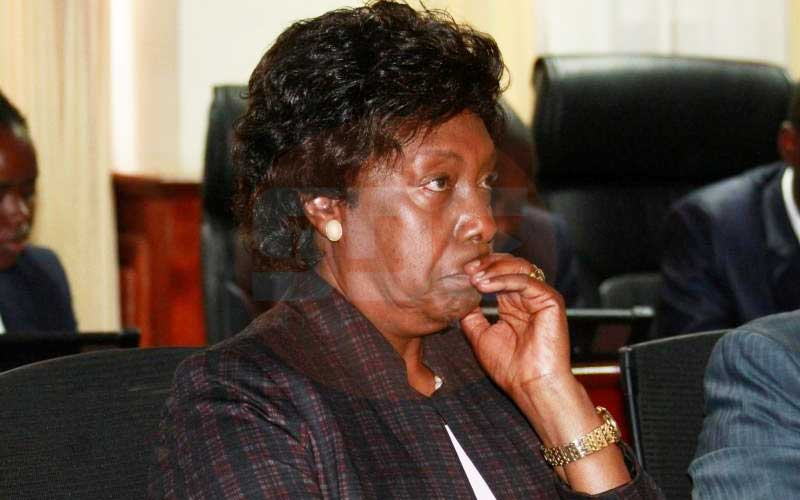 8 MPs call for Ngilu's arrest after 'threatening to arm Kitui residents'
