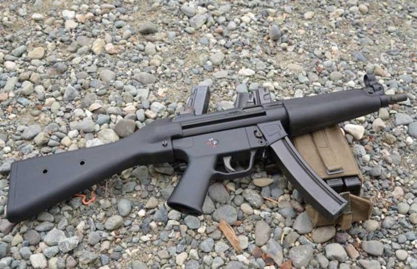 Man fails to steal sub-machine gun in Eldoret, flees scene