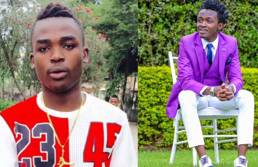 Bahati throws shade at Tanzanian singer Dogo Aslay over 'failed collabo'