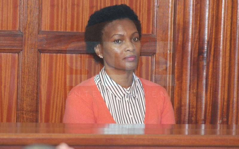 Cohen's widow Sarah Wairimu wants Sh500 million from DPP, DCI for 'loss' of property