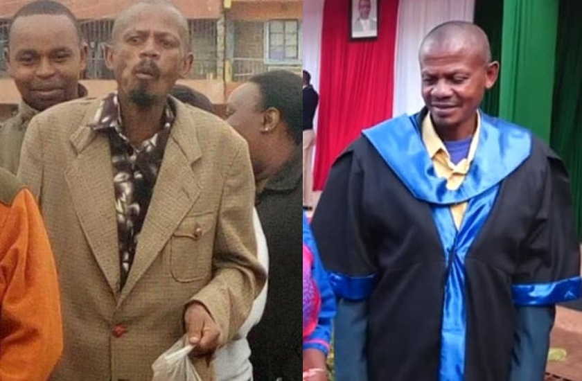 'Githeri Man' out of rehab, graduates at event graced by President Uhuru