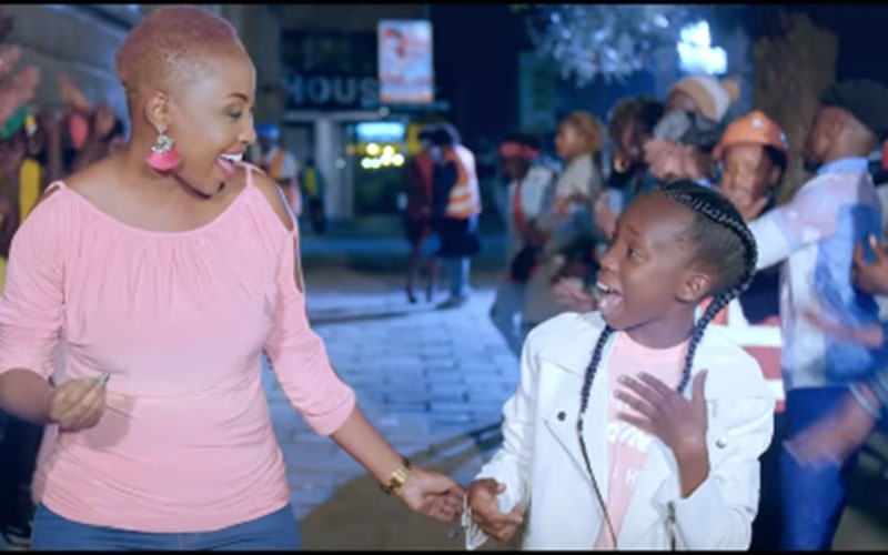 Githurai singing sensation Amani G releases second hit featuring Vivian