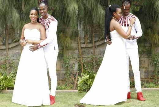 Gospel singer L Jay Masaai shares stunning wedding photos