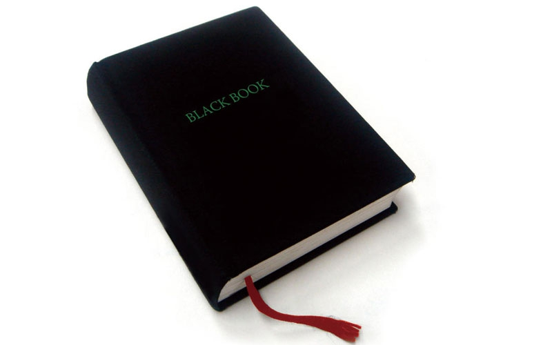 In school, everyone feared the 'Black Book'