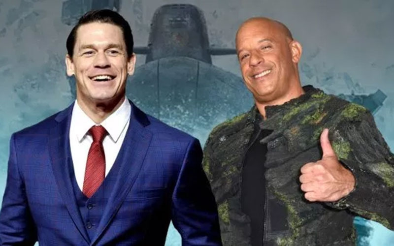 John Cena set to star in Fast and Furious 9 with Vin Diesel