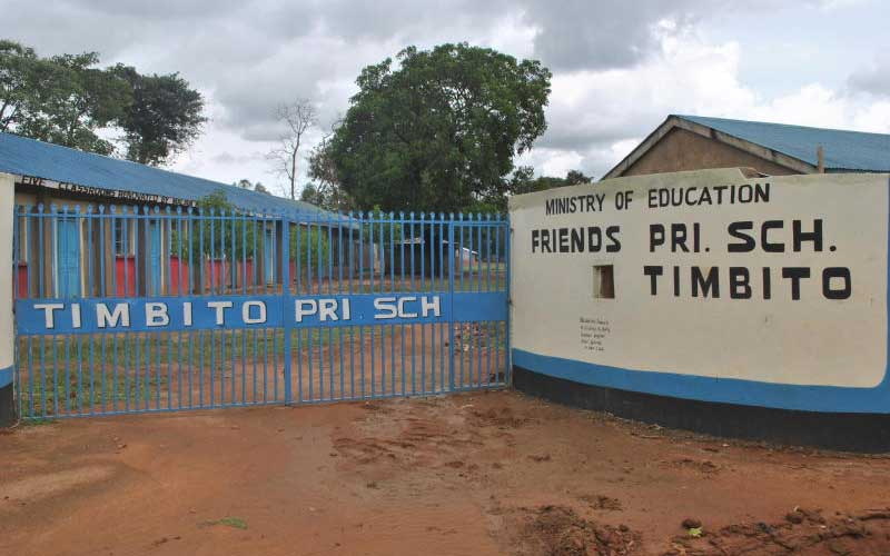 Kakamega primary school where 10 girls were reported pregnant this year