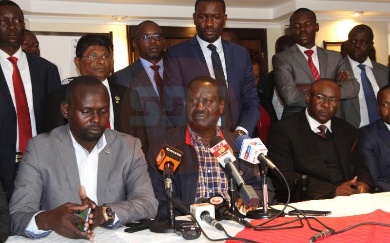 Ken Okoth will not be buried, says Raila Odinga