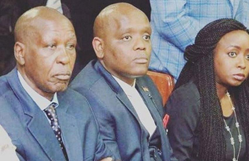 Kenyan's react to photo of Itumbi sitting between Maribe and her father
