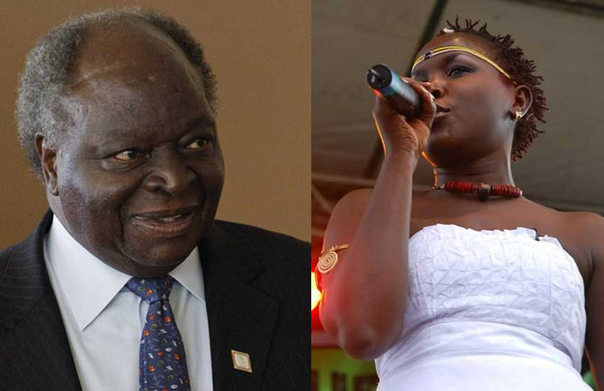 Kibaki allowed me to sell CDs in State House – Emmy Kosgei